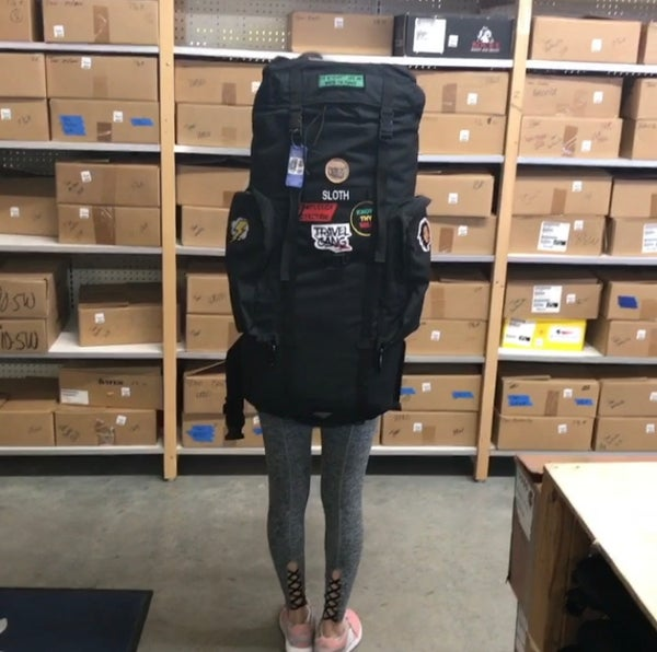 Image of CheddaBob small Backpack
