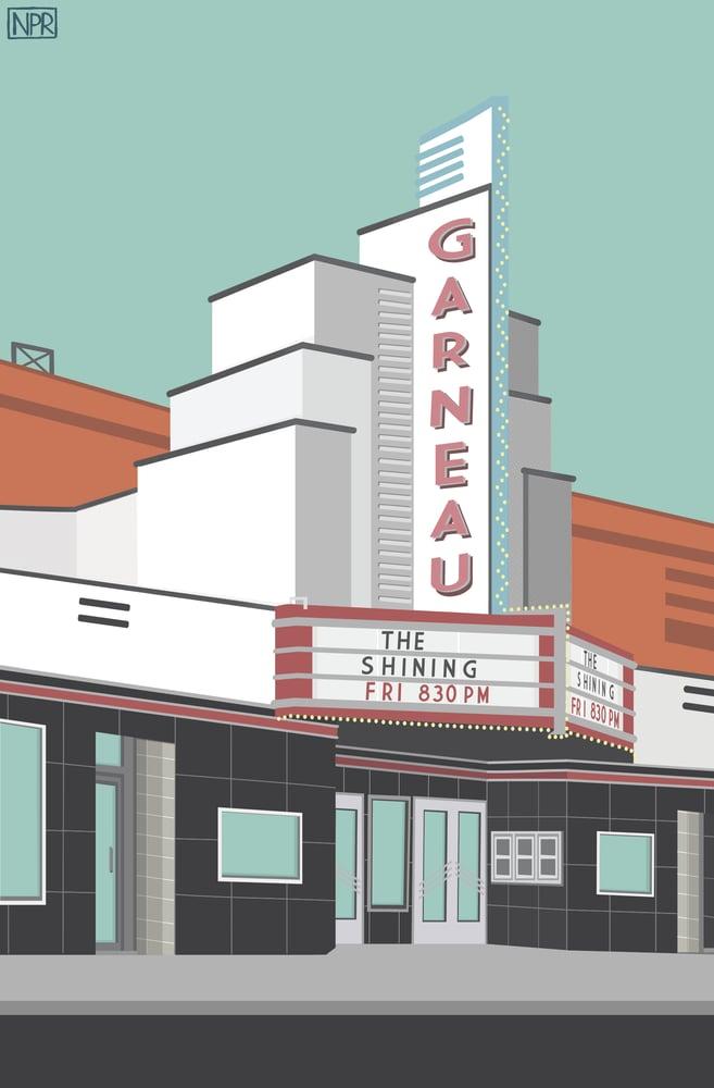 Image of Garneau Theatre (Day/Night)