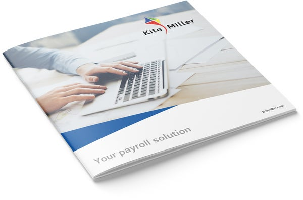 Image of Payroll Solution Brochure Design