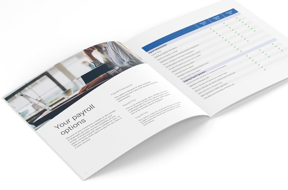 Image of Payroll Solution Brochure Print