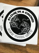 "Image of Alone In A Crowd 3"" sticker"