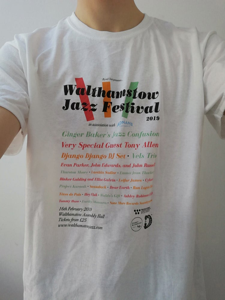 Image of Walthamstow Jazz Festival T-Shirt