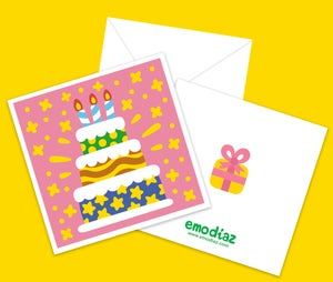 Image of Super Happy Birthday! · Greeting Card