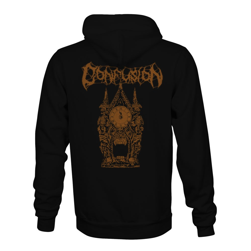 "Image of Confusion ""Clock Tower"" hoody (gold ink)"