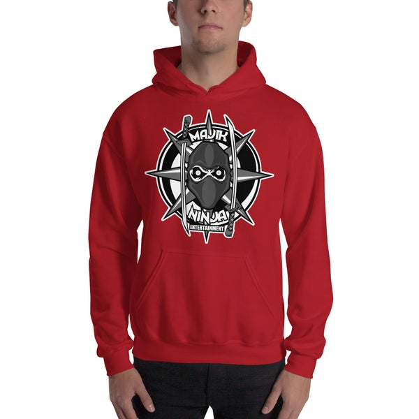 Image of MNE Logo Hoodie Red
