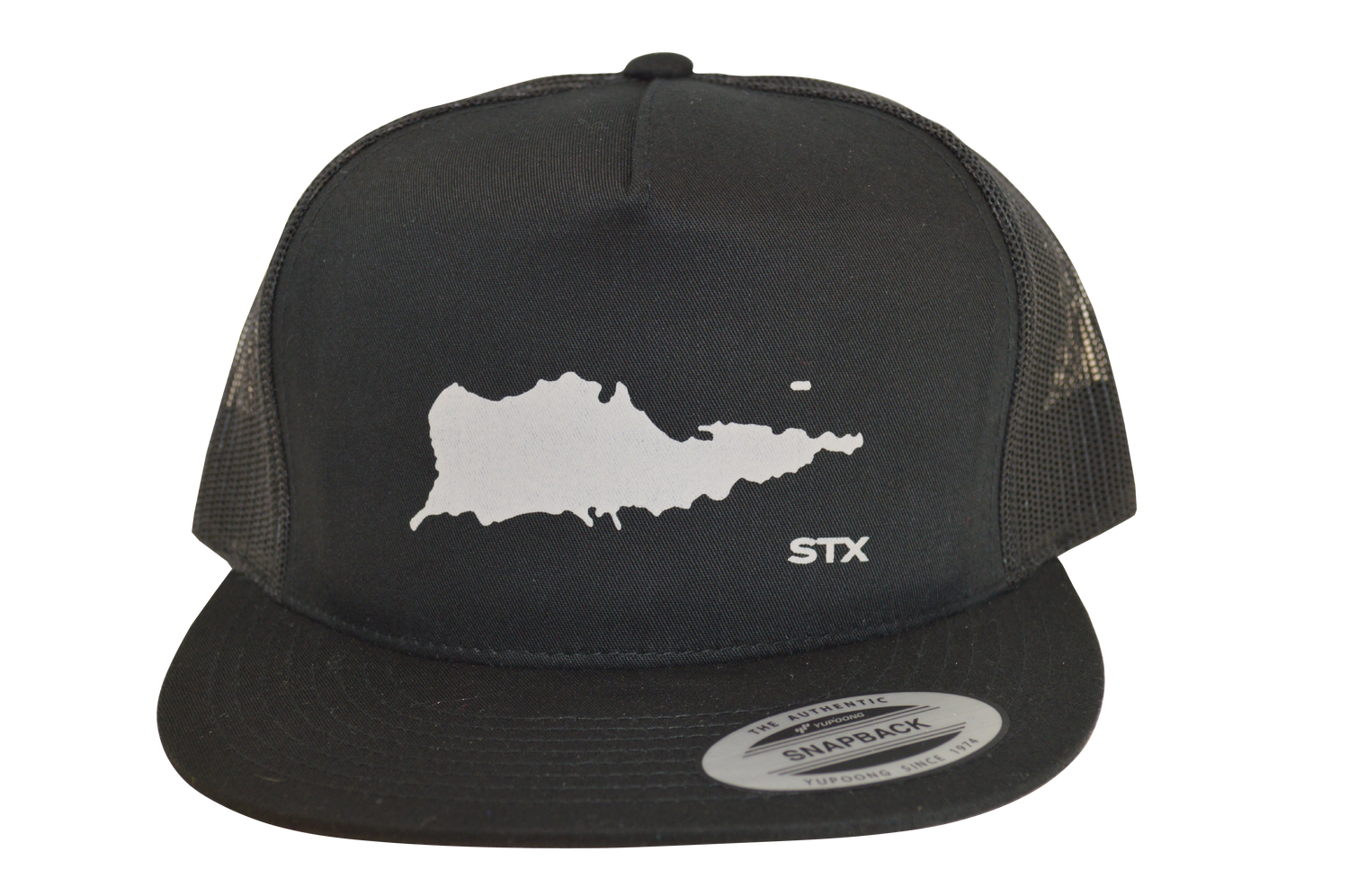"Image of Yupoong 6006 Trucker Hat ""STX Island"""