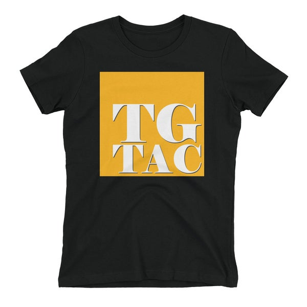 Image of TGTAC OG logo T-shirt - BLACK