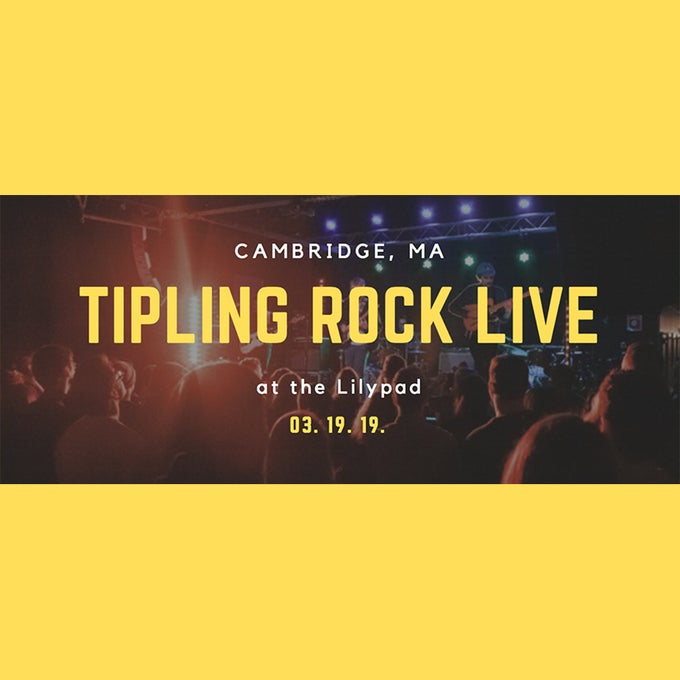 Image of Tipling Rock @ The Lilypad Cambridge March 19, 2019