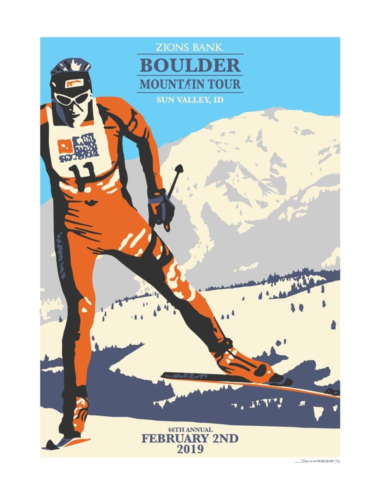 Image of BOULDER MTN. TOUR PRINT 2019
