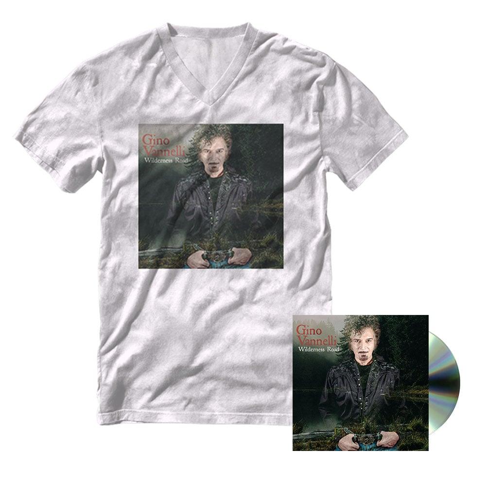 Image of Wilderness Road - Autographed CD + Women's Shirt Bundle