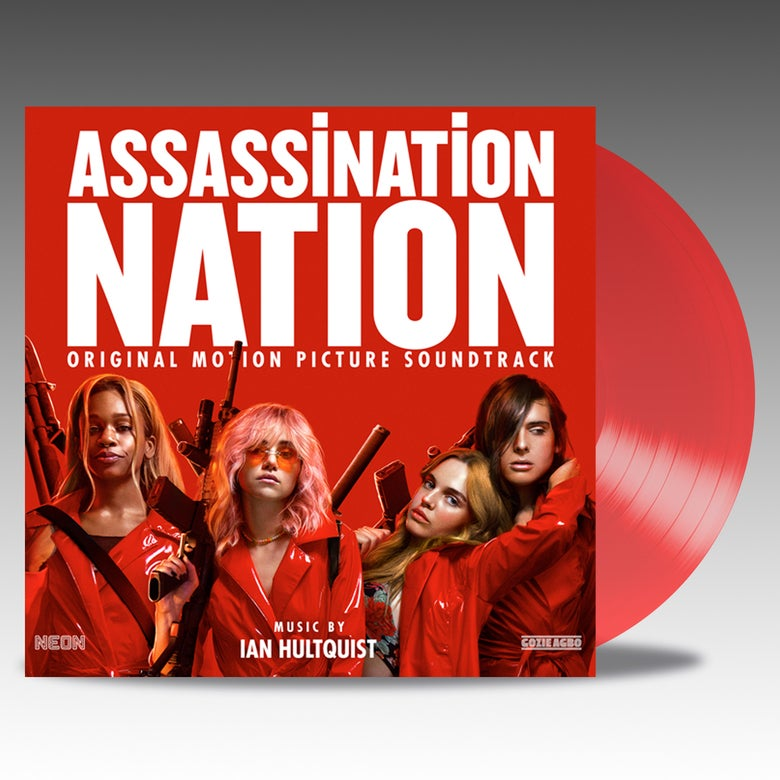 Image of Assassination Nation (Original Motion Picture Soundtrack) - 'Raincoat Red' Vinyl - Ian Hultquist