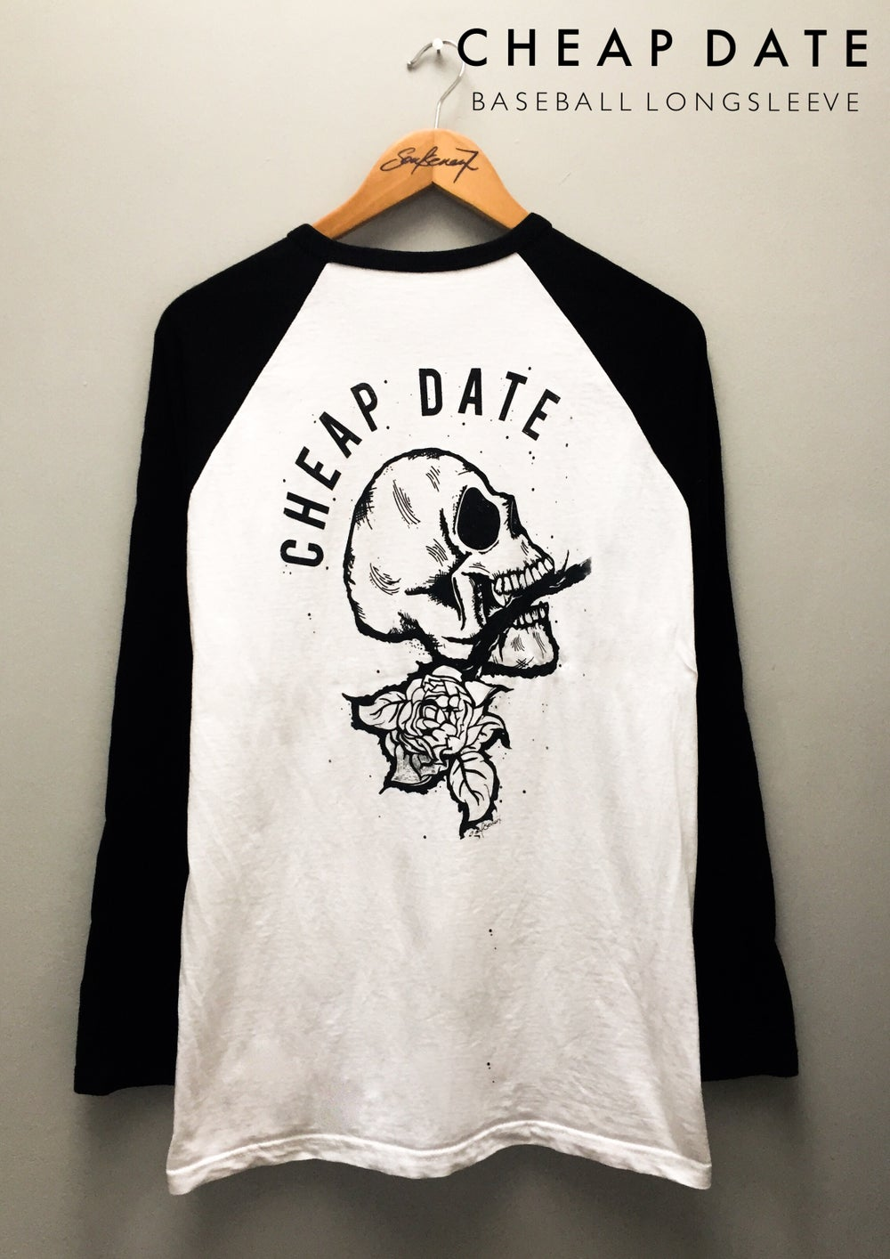 Image of    CHEAP DATE | SWEATSHIRTS, LONGSLEEVE & BASEBALL