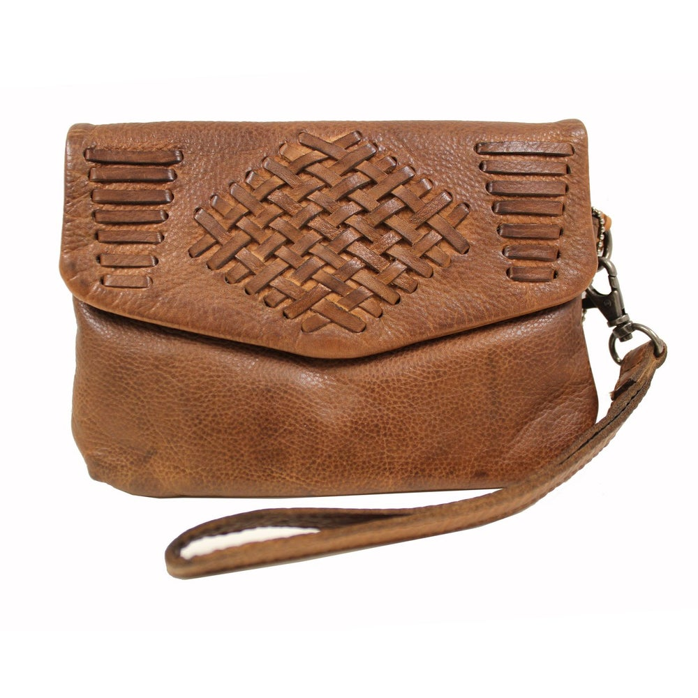 Image of Edith Leather Clutch