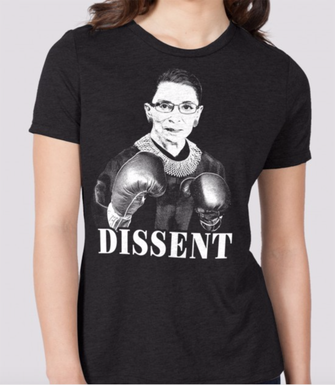 Image of RBG Boxer Tee - women's