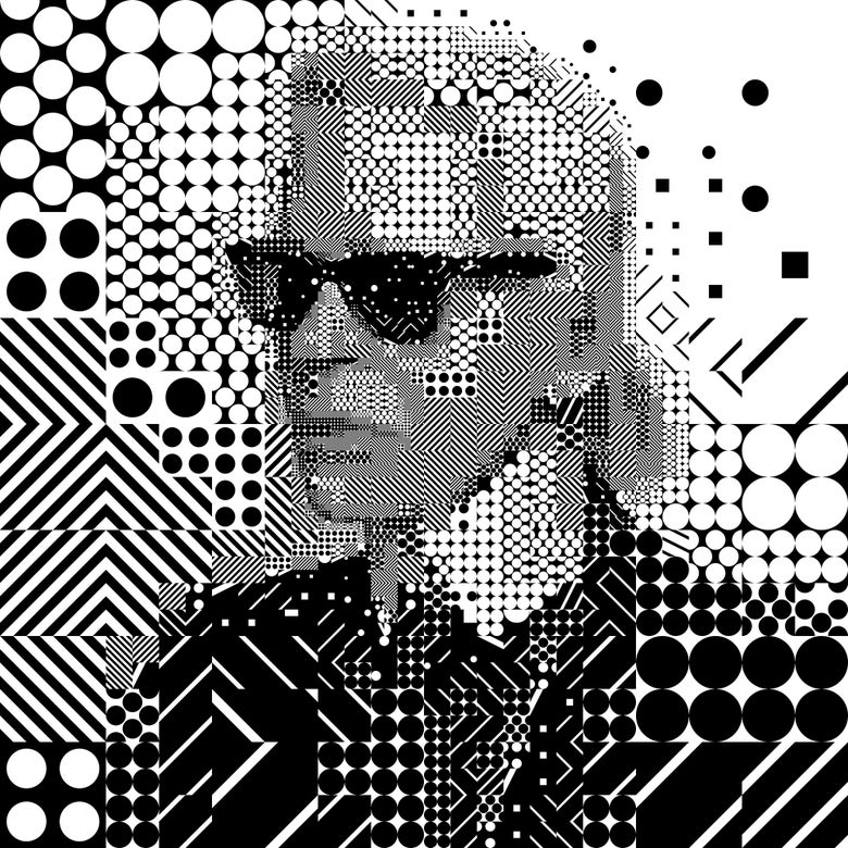 Image of Karl Lagerfeld: A life in Black and White