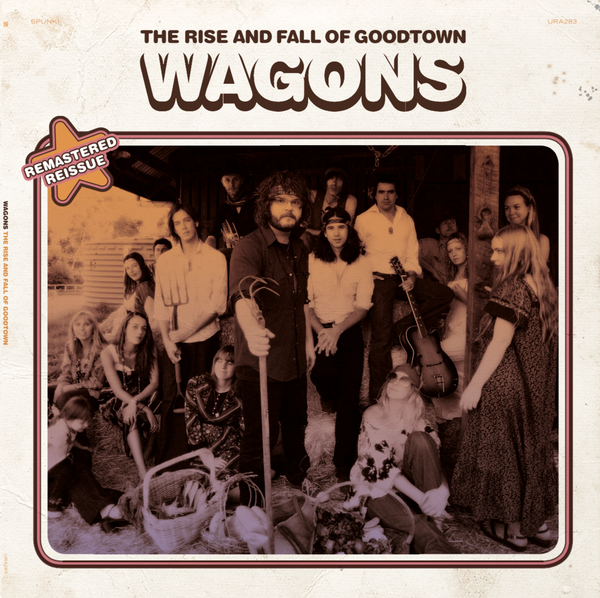 "Image of Wagons 'The Rise and Fall of Goodtown"" LP - reissue"