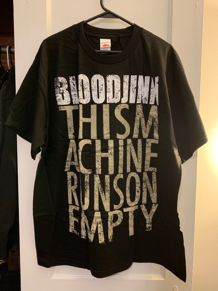 "Image of ""This Machine Runs On Empty"" Tee"