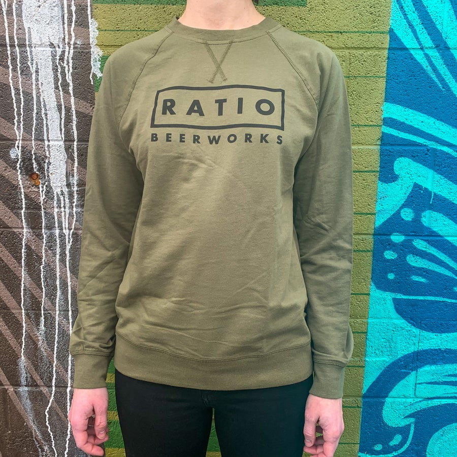 Image of Unisex Olive Long sleeve