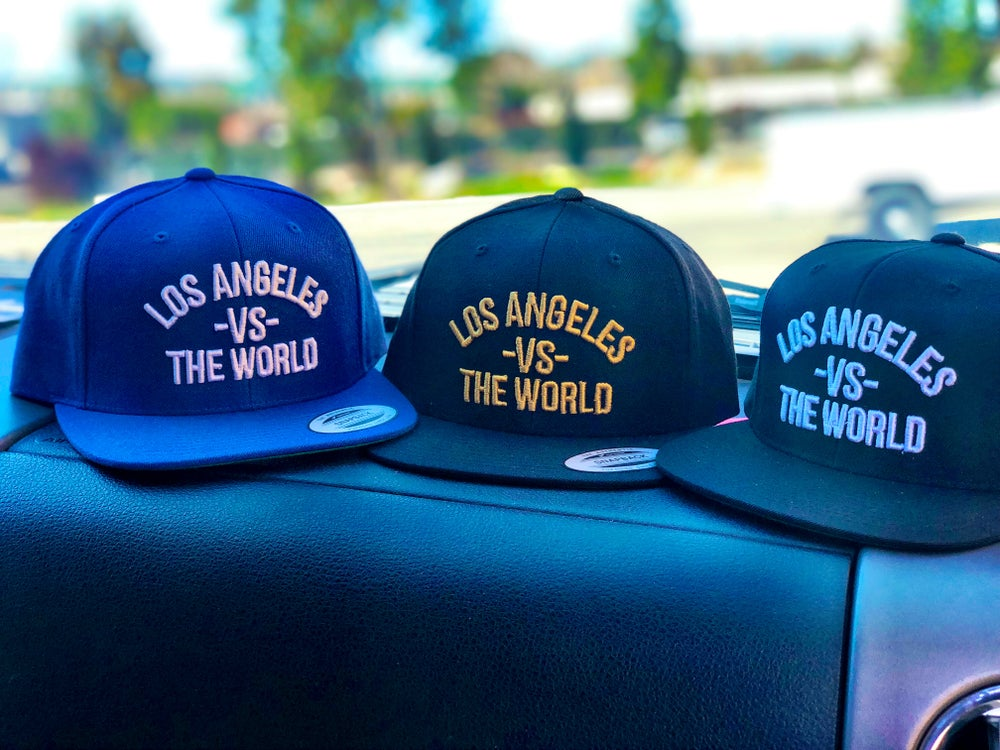Image of Los Angeles Vs The World Hat