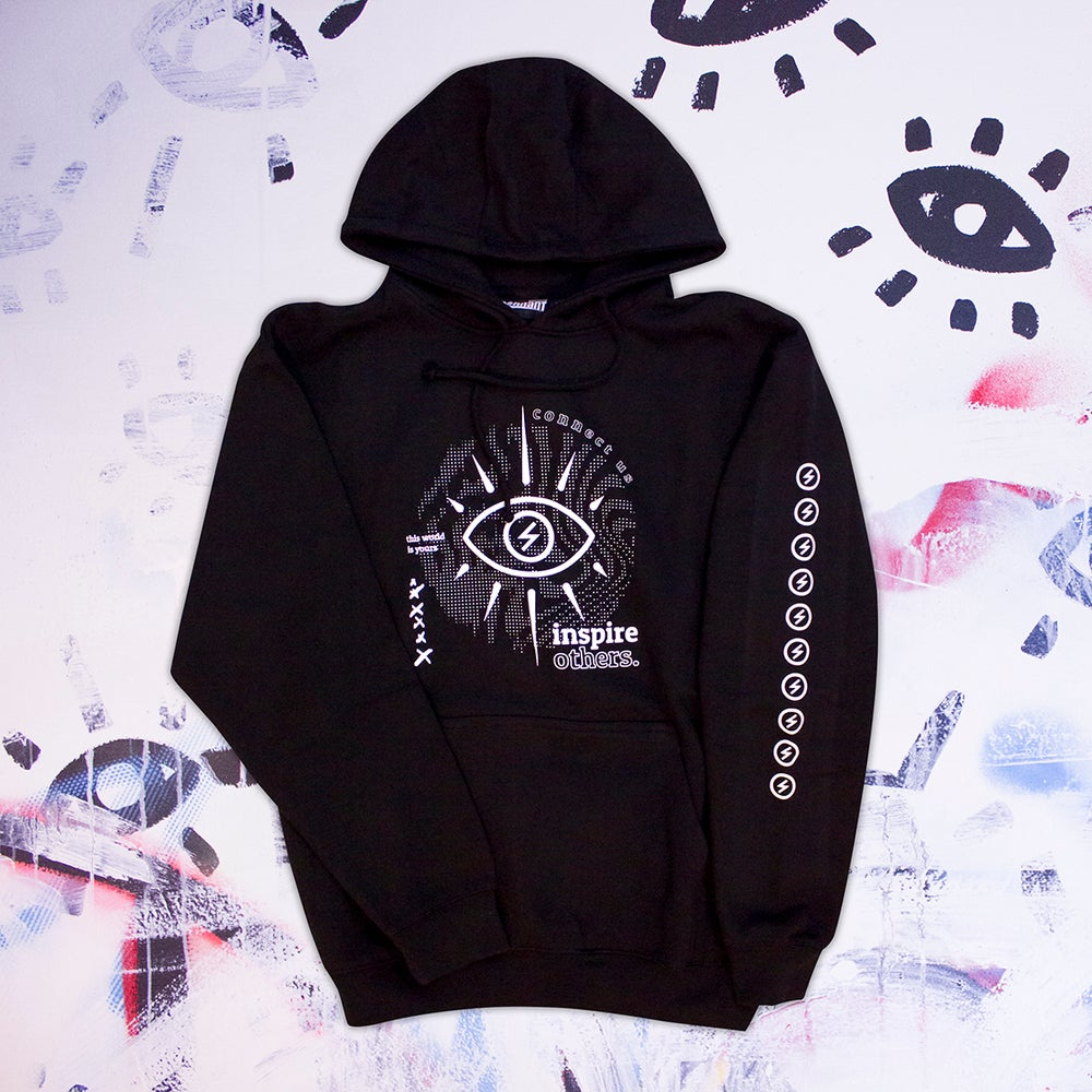 Image of Inspire Others Black Hoodie
