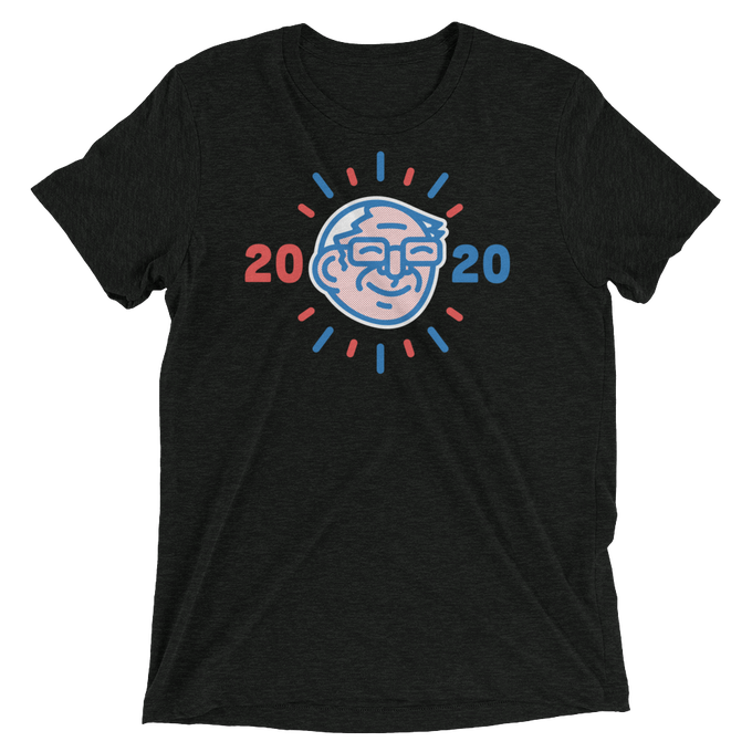 Image of Unisex Charcoal Bern Bright 2020 Tee