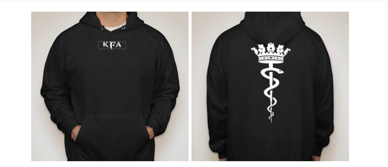 King x Asclepius Hoodie (BLACKOUT Edition)