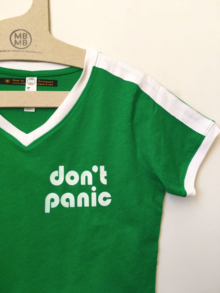 Image of Don't Panic - Ladies Tee