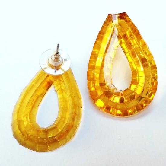 Image of Rain Stud Earrings - Barley Sugar