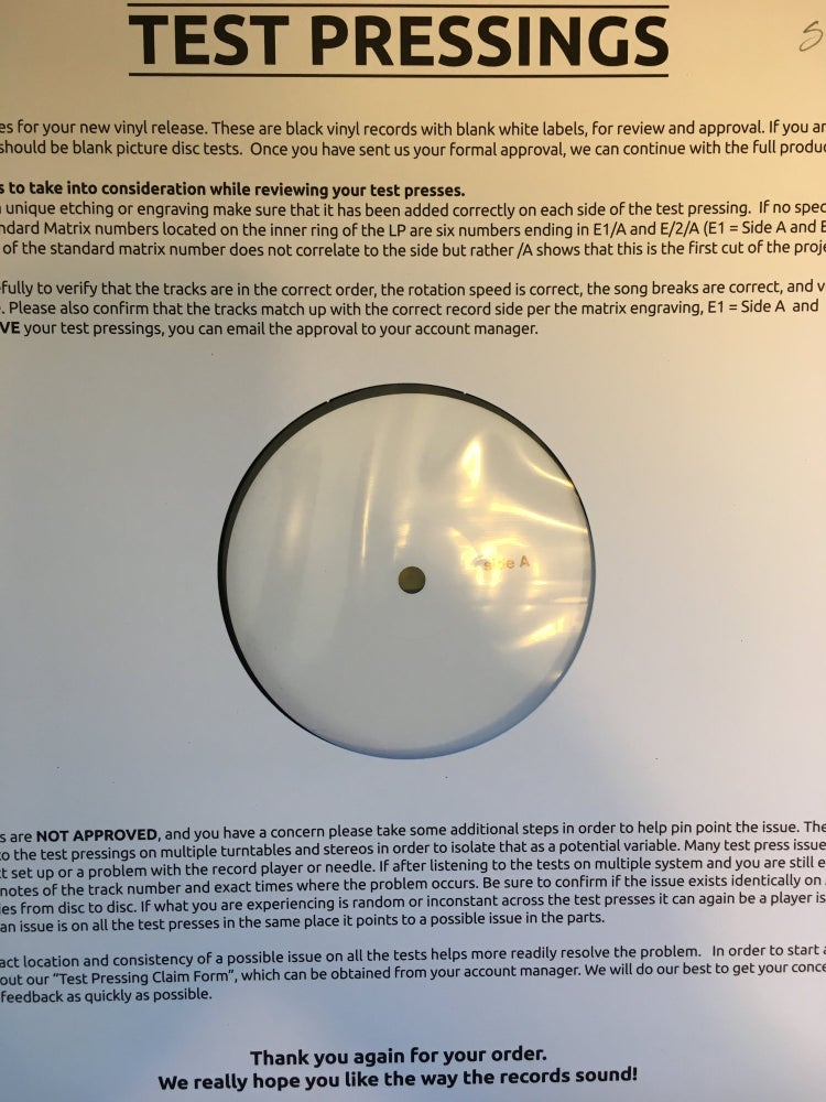 Image of Las Robertas - Waves of the New RARE LIMITED EDITION ORIGINAL TEST PRESS LP
