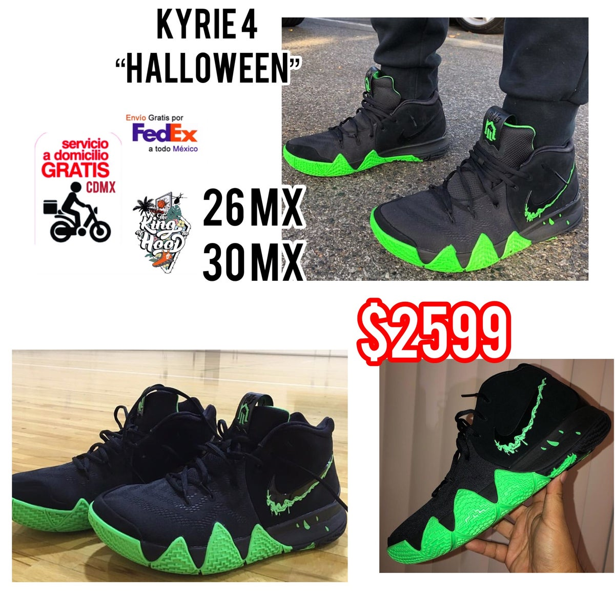 """check out 3dc96 bf48f Kyrie Irving 4 """"Halloween"""""""