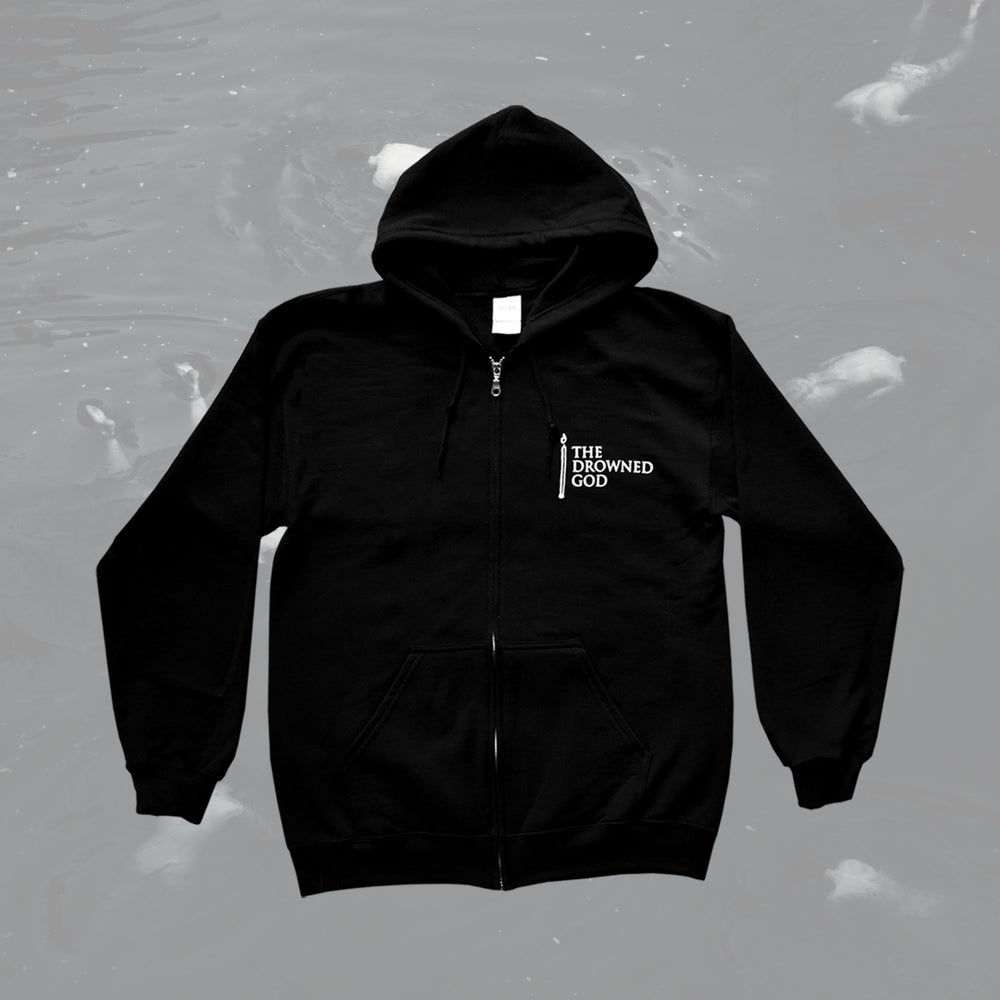 "Image of ""Candle"" Zip-up Hoodie"