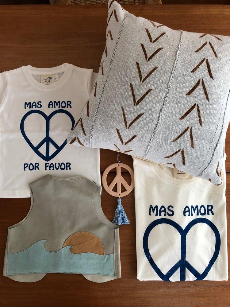 Image of COSTA SUR- Mas Amor Por Favor Toddler Tee