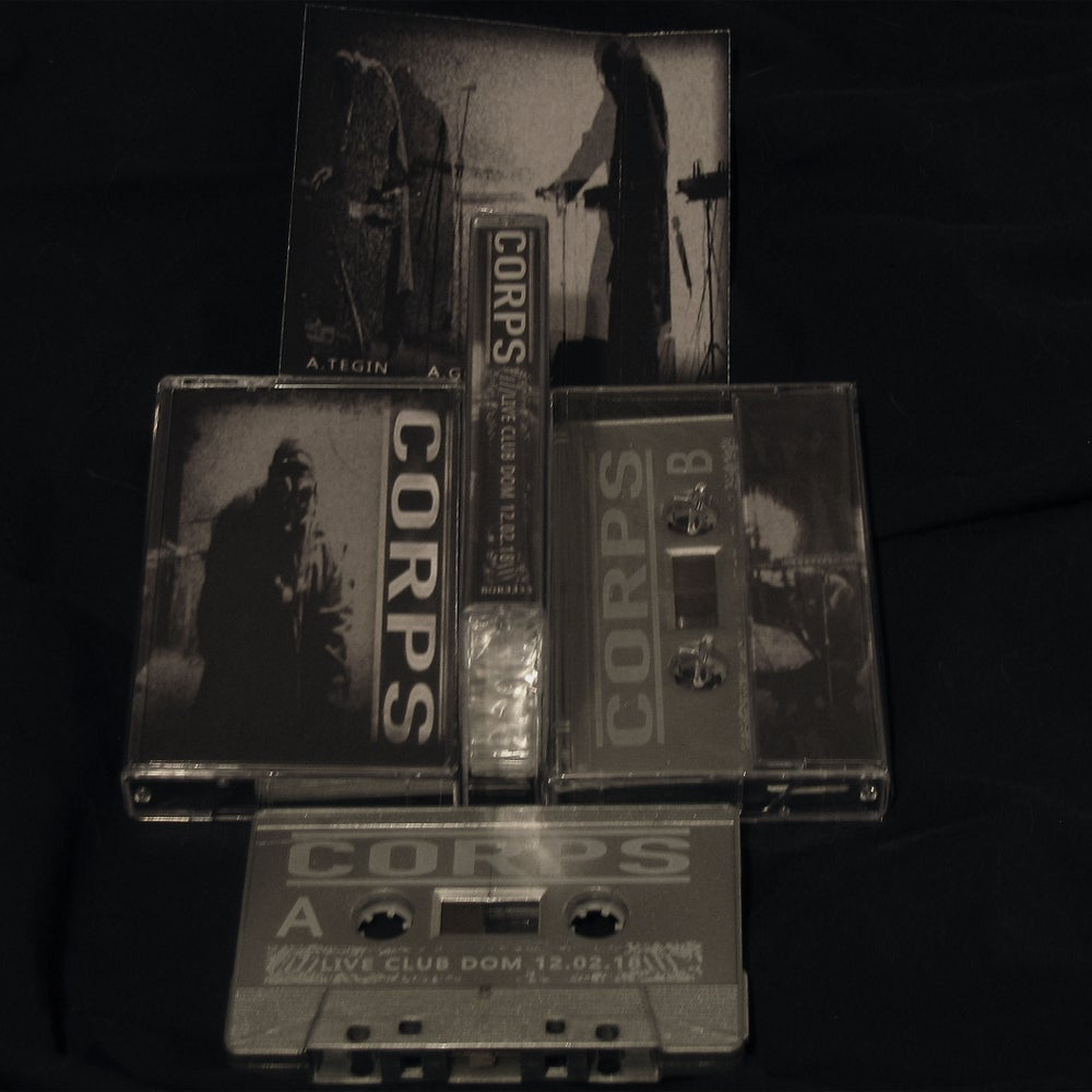 Image of CORPS ///LIVE CLUB DOM 12.02.18\\\ Limited Cassette Tape