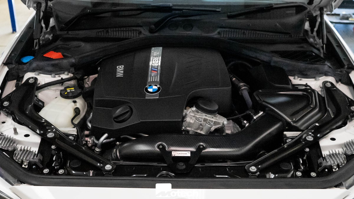 Image of BMW M2 N55 Pipercross V1 Carbon intake