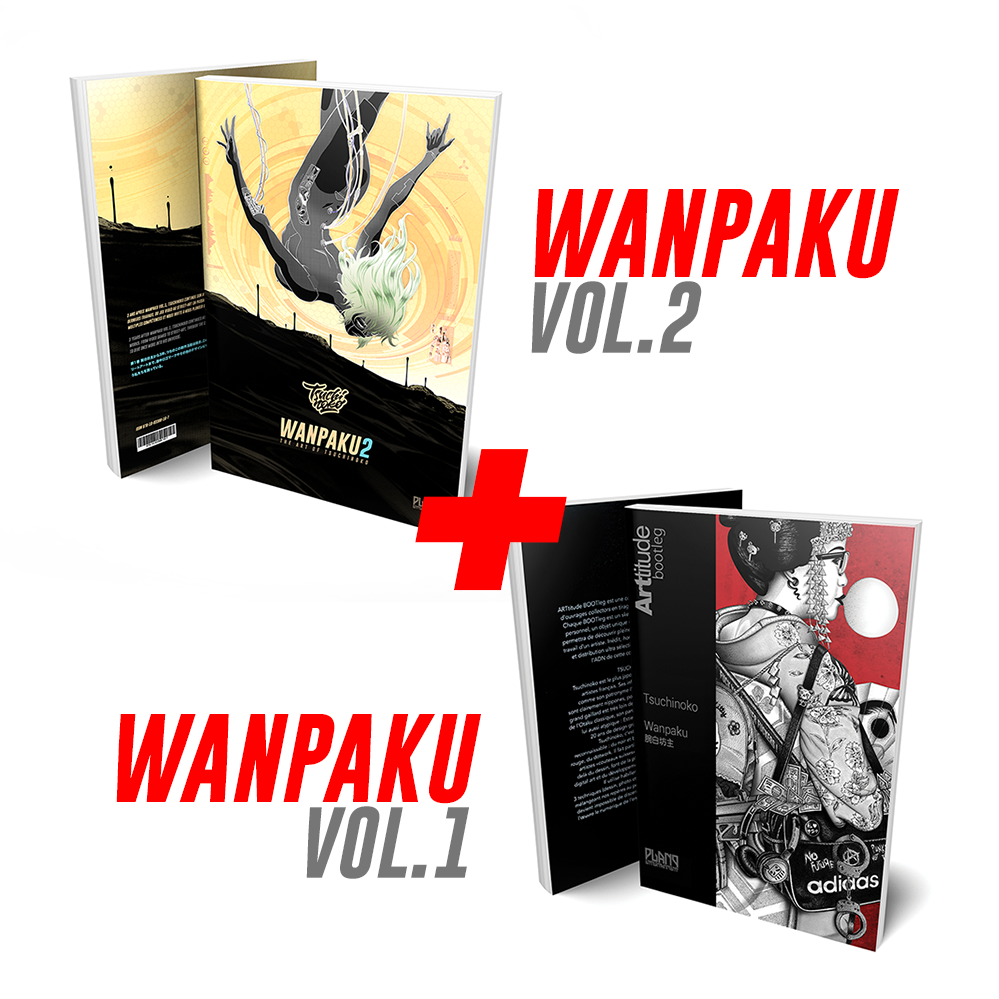 Image of Wanpaku bundle 1 & 2