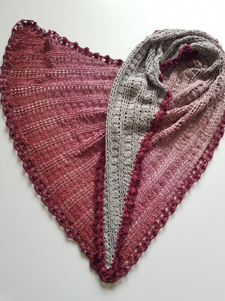 Image of Shift and Slide Shawl