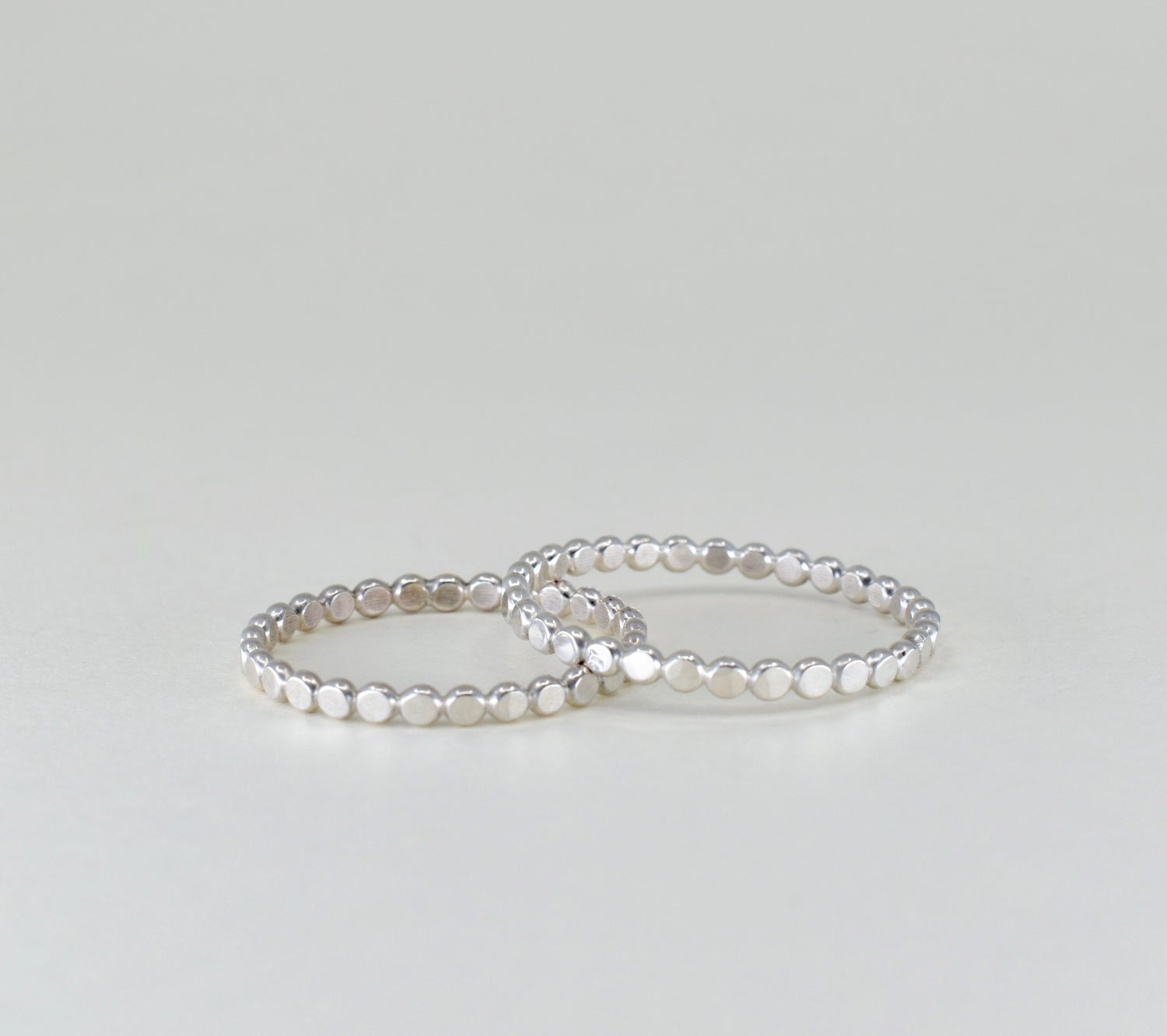 Image of Dotty Stack Ring in Sterling Silver