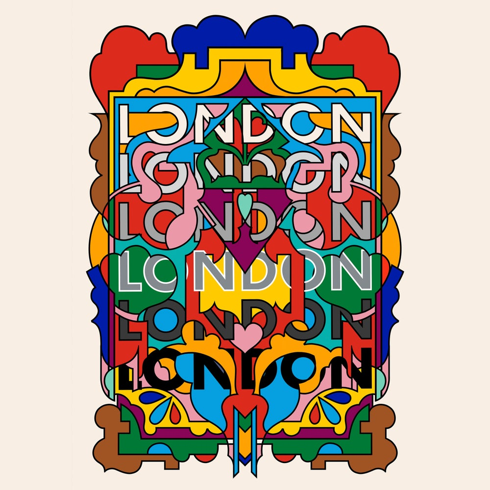 Image of London Loves, 2019 - A3 print