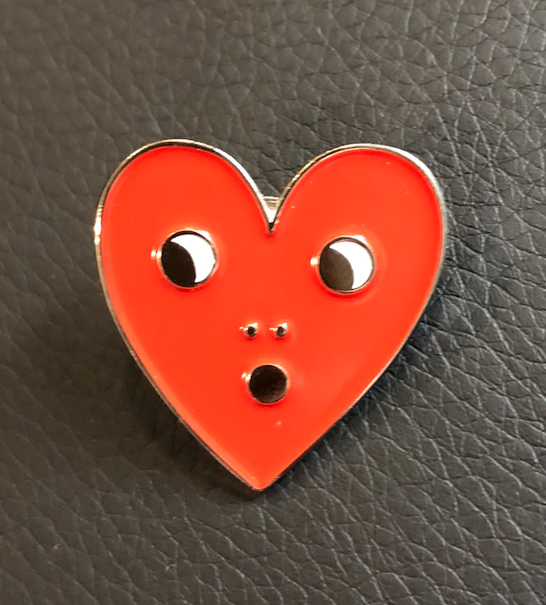 Image of THRILLED HEART