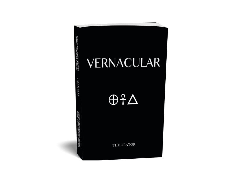 Image of Vernacular, softback