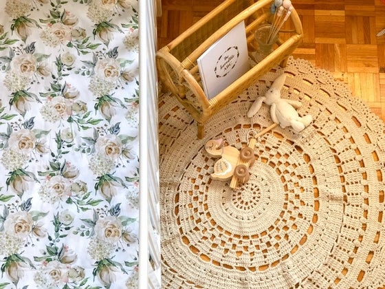 Image of Oatmeal Boho Rug