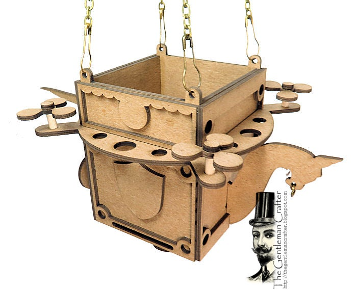 Image of Hoover-Craft- Hot Air Balloon Kit