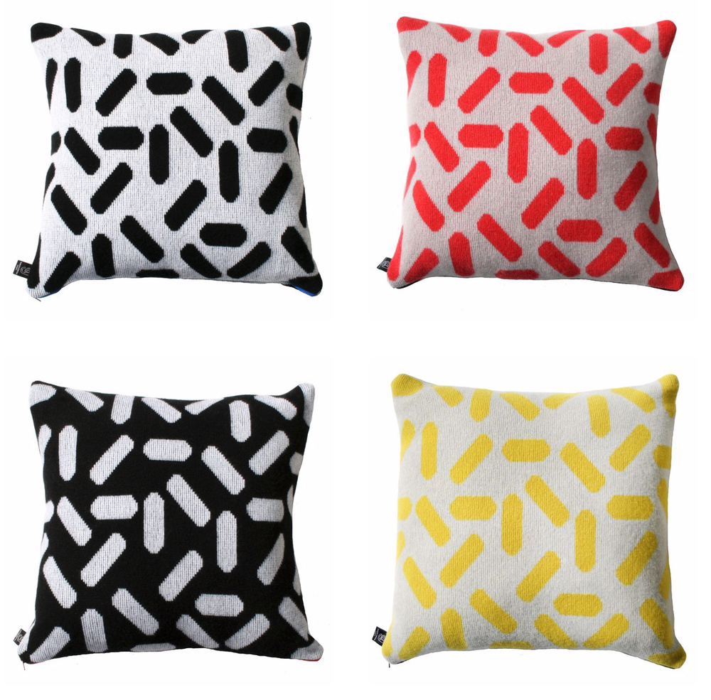 Image of Tic tac cushion large in numerous colours