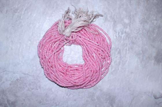 Image of Light Pink Tie Waistbead