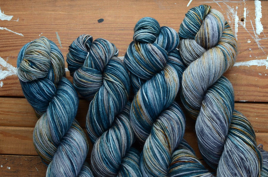 "Image of ""Glare"" Super BFL Sock - 438 yards"