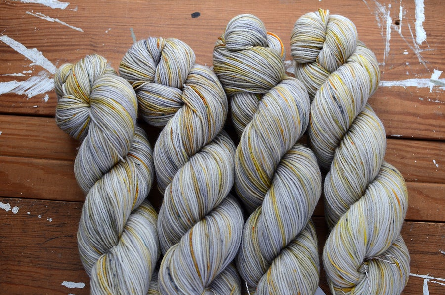 "Image of ""Snowshoe"" Super BFL Sock - 438 yards"