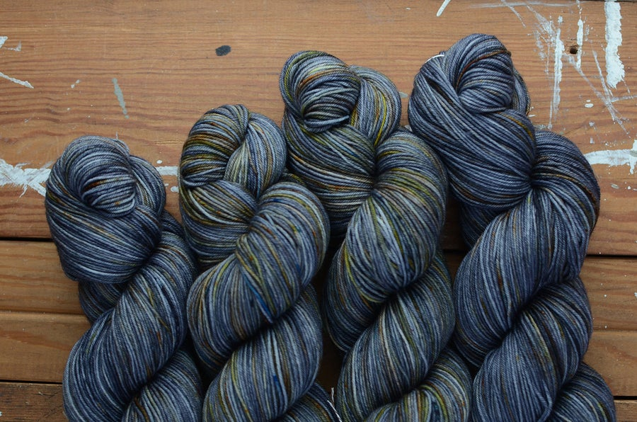 "Image of ""Diesel"" Super Merino Sock - 438 yards"
