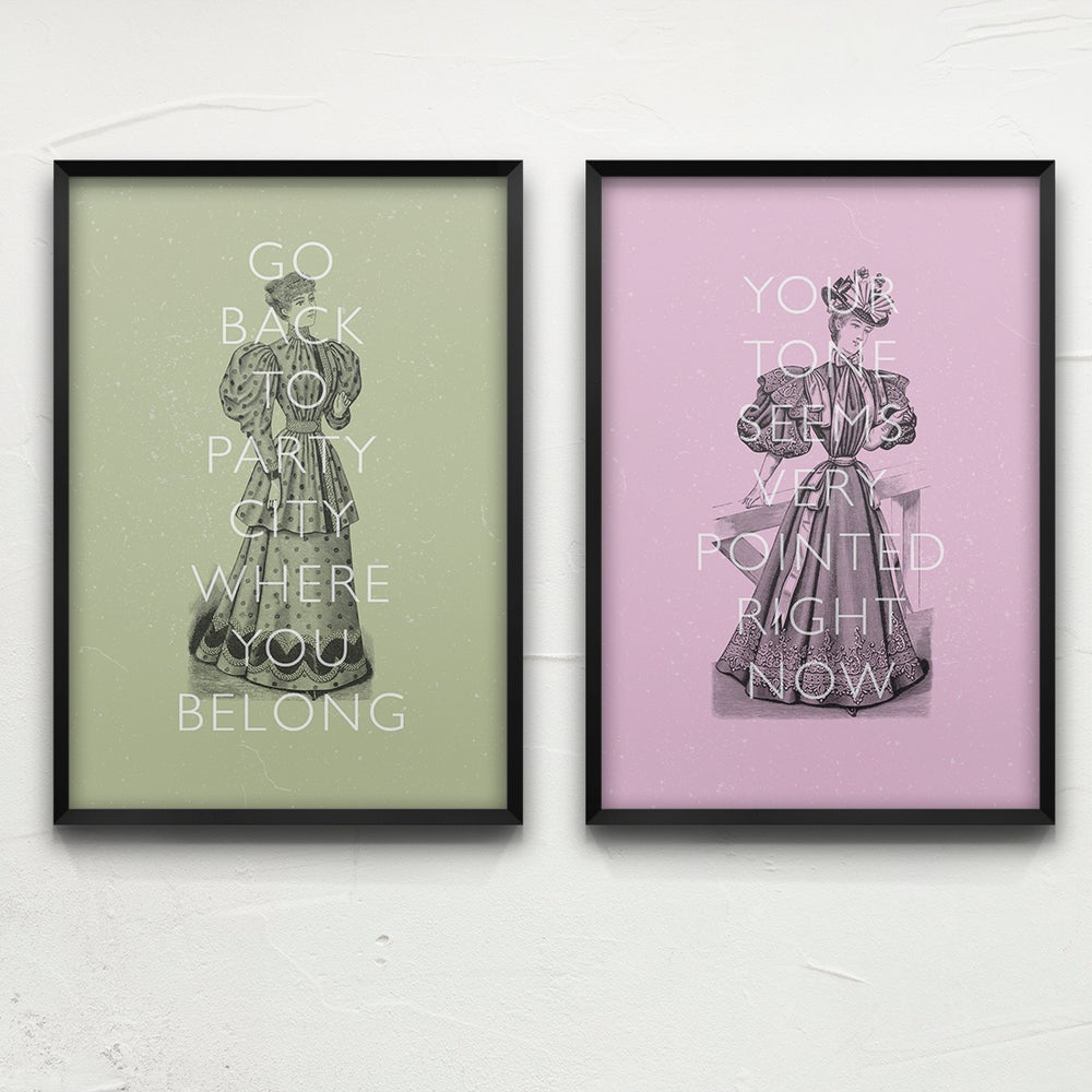 Victorian Drag Poster