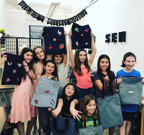 Image of Sewing Birthday Parties (Ages 7-15)