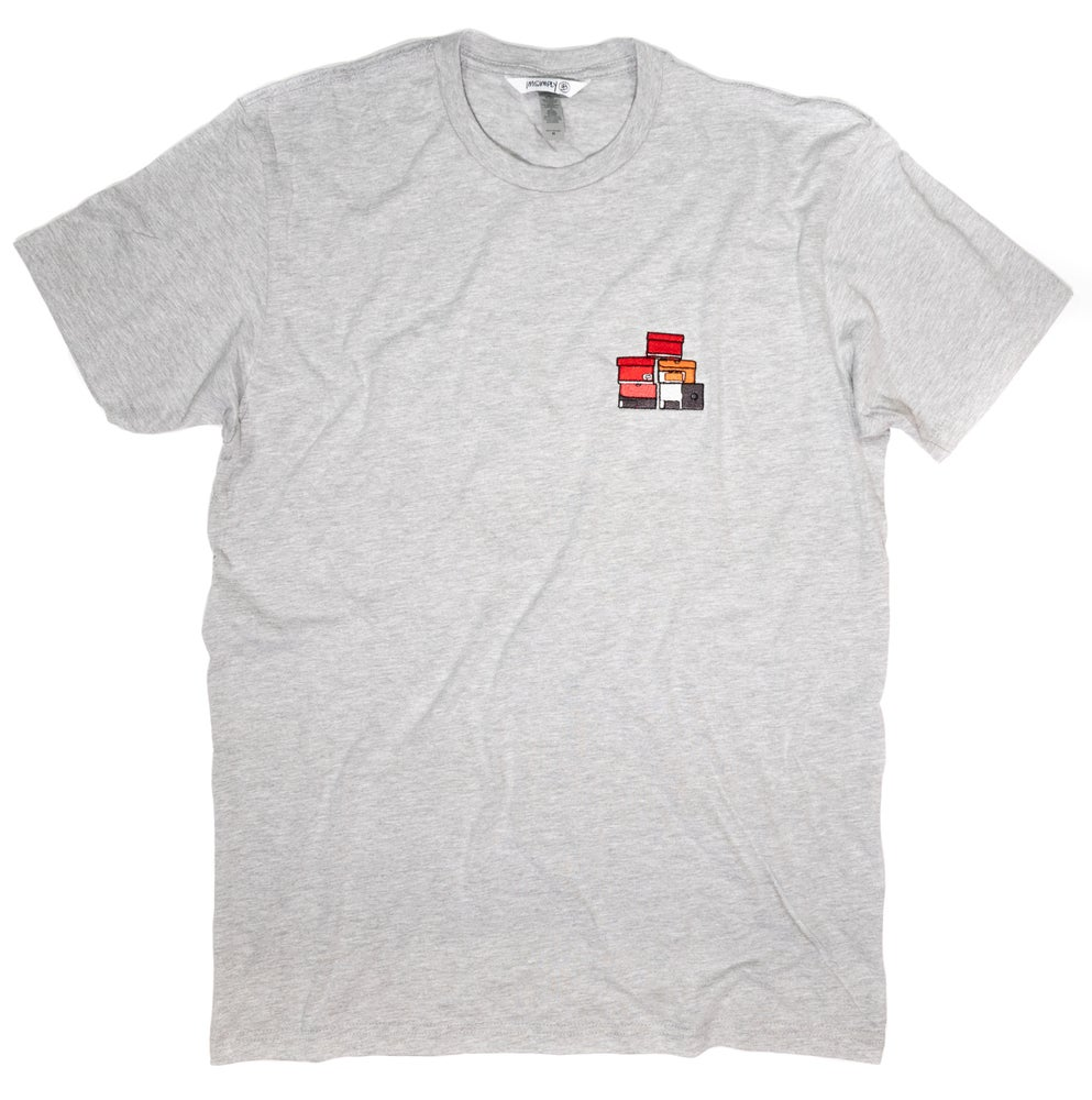 Image of Simply Stacked Tee (Grey)